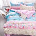 克莉维娅 100%全棉斜纹半活性印花三件套 卡通儿童学生宿舍床上用品床单被套1.2米套件