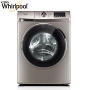 惠而浦(Whirlpool)7.5公斤全自动变频滚筒洗衣机WG-F75821K(惠金色)