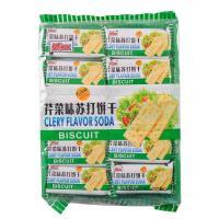 【华师店】Mixx无添糖芹菜苏打饼干500g(条码:4897042170510)