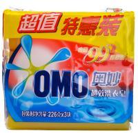 【华师店】奥妙99超效洗衣皂三块装226g*3(条码:6902088706147)