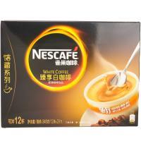 【华师店】雀巢咖啡臻享白咖啡条装29g*12(条码:6917878038520)