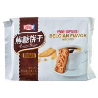 【华师店】利拉焦糖饼干咖啡味318g(条码:6934691204635)
