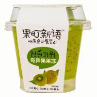 【华师店】巧妈妈奇异果味果冻125g(条码:6948839503788)
