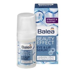 【德国直邮】德国芭乐雅BALEA Beauty Effect玻尿酸提拉紧致保湿眼部唇部精华   15ml