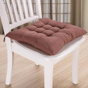 学生坐垫 纯色珍珠棉磨毛波点加厚保暖餐椅办公室电脑坐垫凳子垫