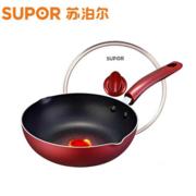 苏泊尔(SUPOR)火红点不粘锅 深型煎炒锅PJ28R4