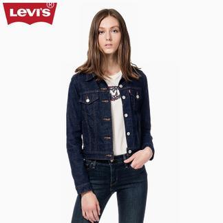 Levi's李维斯女士水洗牛仔夹克外套70270-0148