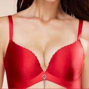 Ordifen/欧迪芬内衣光面一片式无痕水袋文胸胸罩聚拢调整OB6152【年货节】
