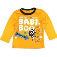 BABIBOOO加菲猫童装2017新款男女童儿童长袖T恤GDTL792259