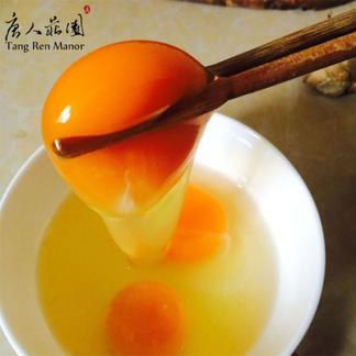 唐人庄园土鸡蛋 新鲜 绿色 无添加 30枚装