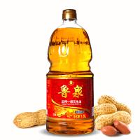 鲁泉纯正一级压榨浓香花生油1.8L 清真食品 纯物理压榨