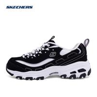 Skechers斯凯奇明星同款潮鞋 D'lites男女鞋黑白熊猫款99999720BKW