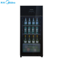 美的(Midea)JC-145GEV 145升红酒柜 茶叶柜 家用冷柜 冷藏保鲜柜 左开冰吧
