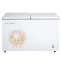 美的(Midea) BCD-269DKMA 269升 冷藏冷冻转换柜 卧式冷柜节能双温冰柜