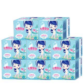 七度空间卫生巾 少女系列夜用卫生巾8包40片姨妈巾