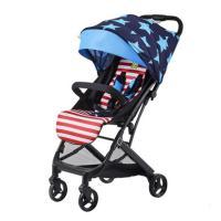 好孩子小龙哈彼轻便可坐可躺婴儿推车口袋车铝合金宝宝童车LC506