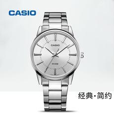CASIO卡西欧手表男时尚商务休闲防水钢带石英腕表MTP-1303D-7A