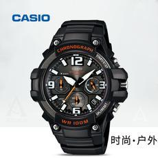 casio卡西欧手表男表三眼运动夜光学生防水石英表MCW-100H-1A