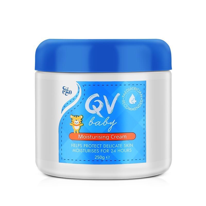 【澳洲直邮|包税包邮】Ego QV 婴儿新生儿润肤保湿雪花霜 250g (含角鲨烷 )【2瓶】