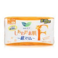 日本花王乐而雅F系列日用绵柔卫生巾17cm 32片