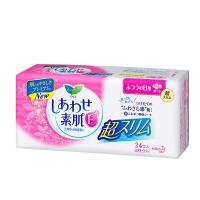 日本花王乐而雅F系列日用棉柔护翼无荧光卫生巾20.5cm 24片