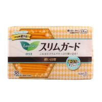日本花王乐而雅S系列护垫卫生巾17cm 38片