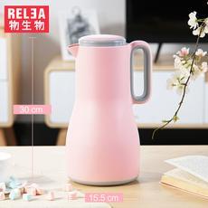 物生物沐风家用水壶真空大号保温壶玻璃内胆大容量暖壶热水瓶1.5L