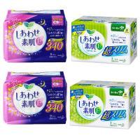 【香港直邮】花王日用22.5cm*2+夜用34cm*2组合四包装卫生棉
