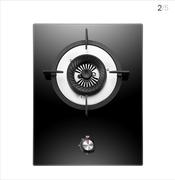 康佳(KONKA)台嵌两用燃气灶 S706BD 防爆钢化玻璃面板 二次钢化宽屏黑晶玻璃 天然气版