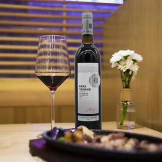 俄罗斯原瓶进口库班赤霞珠干红葡萄酒1支700ml