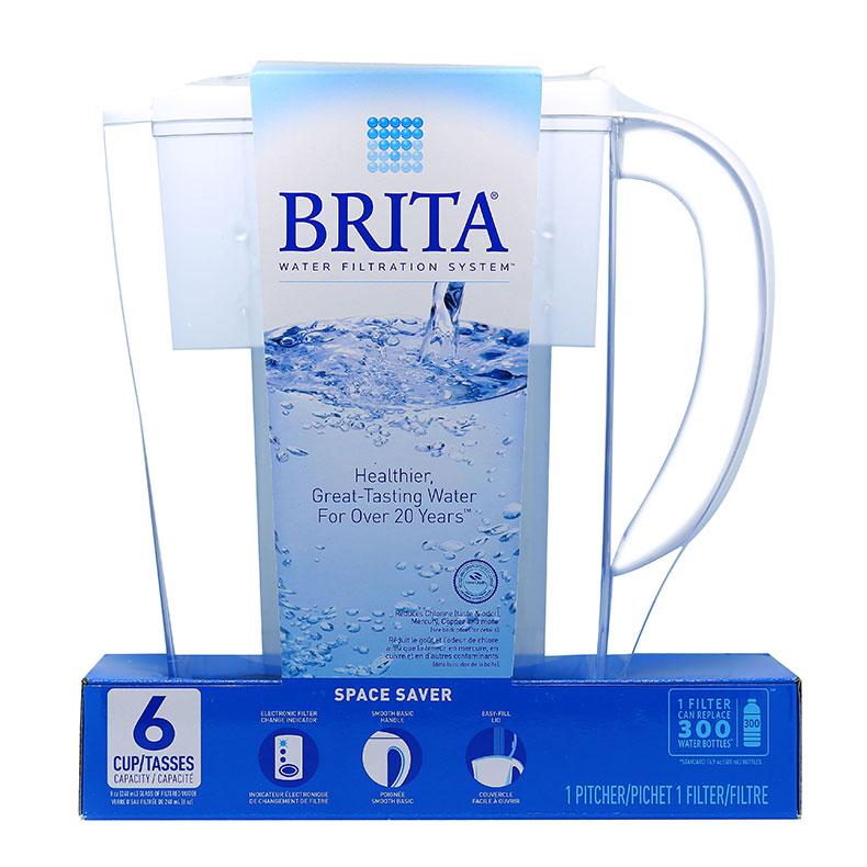 加拿大版Brita碧然德净水壶滤水壶1.5L  1壶1芯 2倍超长滤芯