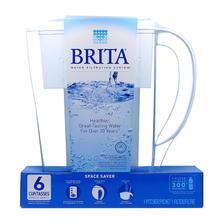 【积分兑换】加拿大版Brita碧然德净水壶滤水壶1.5L 1壶1芯 2倍超长滤芯