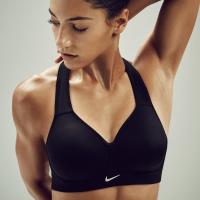 耐克女子运动文胸瑜伽健身训练支撑聚拢防震运动内衣 805553-010