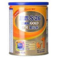 【天顺园店】惠氏金装S-26金装爱儿乐400g(编码:583503)