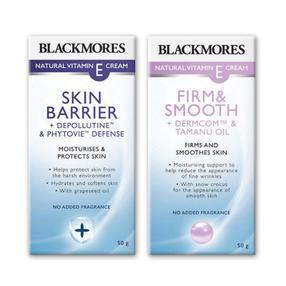 【澳洲直邮|包税包邮】Blackmores 新版ve抗皱+补水套装50g