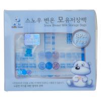 【超级生活馆】小白熊母乳储存袋10p10P(编码:551916)