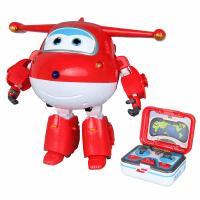 奥迪双钻 超级飞侠动漫同款变形玩具 旗舰版遥控&变形乐迪710760