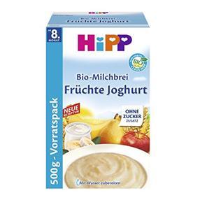 【德国直邮】 Hipp 喜宝有机酸奶益生菌什锦水果米粉500g 8个月以上
