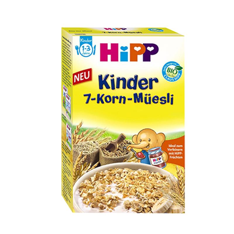 【德国直邮】 Hipp 喜宝有机辅食七种谷物麦片 200g 1-3岁