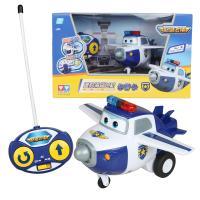 奥迪双钻 超级飞侠 遥控滑行飞机包警长710750 儿童益智玩具