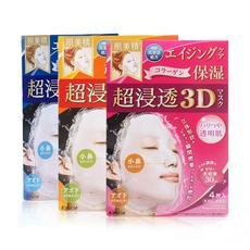 日本 Kracie/肌美精3D超渗透面膜 多种可选 4片/盒