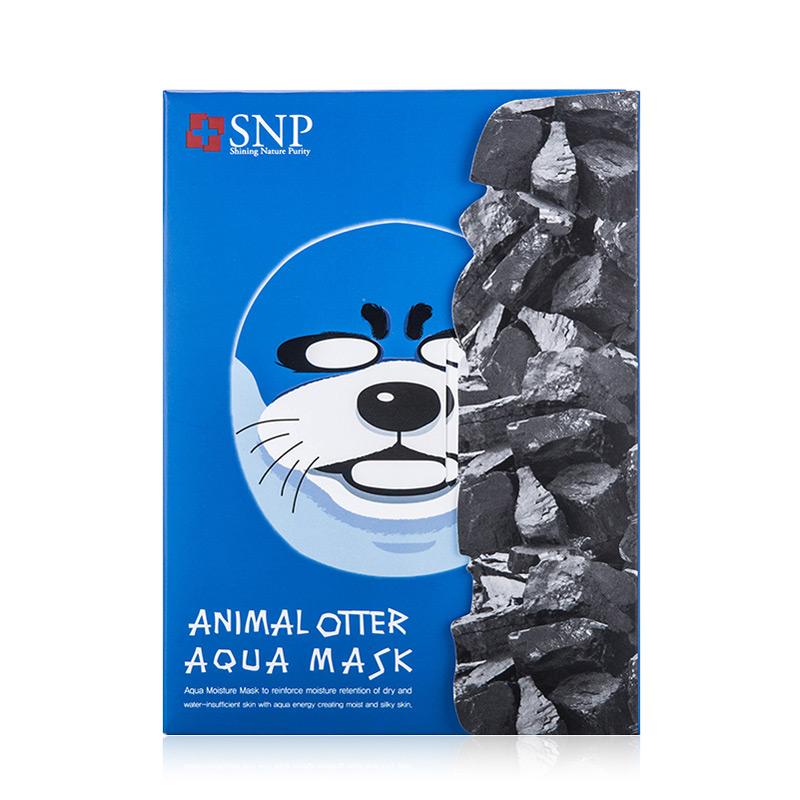 韩国SNP动物水獭面膜10片/盒
