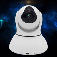 杰特康无线wifi摄像头家用网络高清摄像机ip手机远程监控器摄像头IPC12 白色