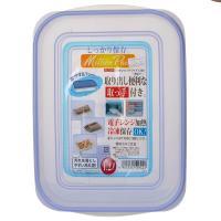 【超级生活馆】家之物语保鲜盒1.2L(蓝色)(编码:577954)