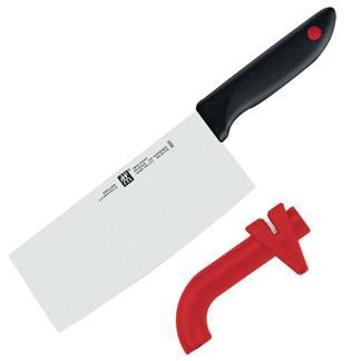 【德国直邮】zwilling 双立人红点中式菜刀+磨刀器