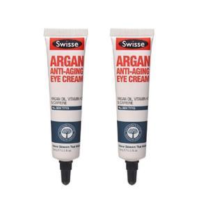 【澳洲直邮|包税包邮】Swisse摩洛哥坚果油抗衰老眼霜15ml*2支