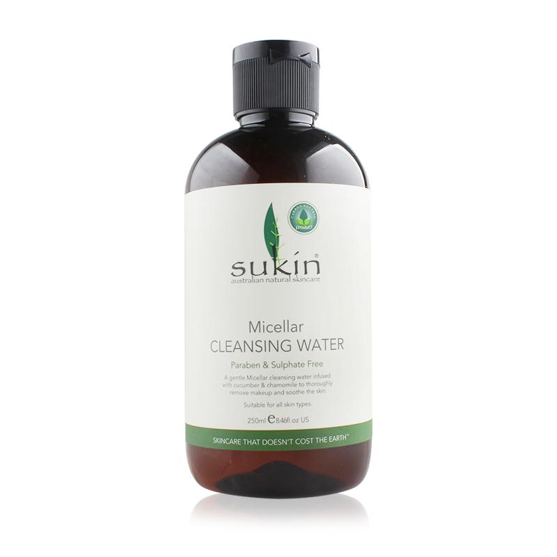 澳大利亚 SUKIN/苏芊 纯天然面部卸妆水 Micellar Cleansing Water 250ml