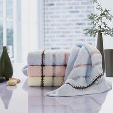 花果果 巴黎夏日毛巾 简约风 天然纯棉 超柔软毛圈丰满