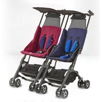 好孩子口袋车POCKIT 2S可半躺婴儿推车超轻便携折叠登机宝宝伞车