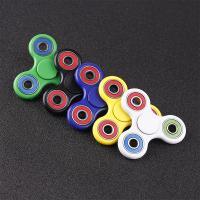指尖陀螺三叶 发光 风火轮 edc玩具手指陀螺成人儿童减压玩具陀螺